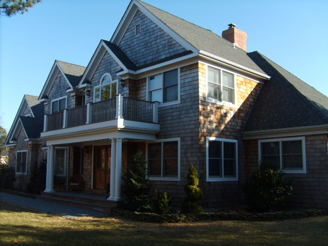 Front Elevation Traditional : Hamptons traditional homechristopher j profeta architect
